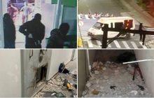 Quadrilha sitia Centro de Criciúma e faz reféns em assalto a bancos