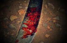 Homem é ferido com facão pelo seu filho