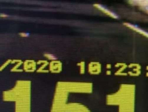 Veículo é flagrado a 151 Km/h entre Santa Helena e Entre Rios do Oeste