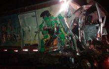 Morador de Pato Bragado morre após colisão de caminhões no Mato Grosso