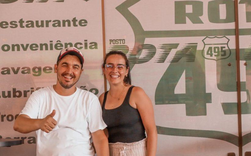 AUTO POSTO ROTA 495 COMEMORA 4 ANOS SOB A DIREÇÃO DO AMIGO NANÁ