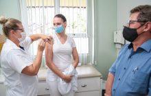 Iniciada a vacinação contra a Covid-19 em Missal
