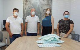 Seringas para vacinação contra Covid-19 chegam a Santa Helena