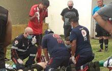 Morador de Medianeira morre morre durante partida de futebol