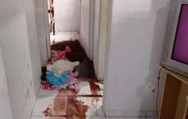 Homem é encontrado morto em residência; mulher e criança não são localizados