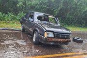 Acidente envolvendo dois veículos é registrado na PR 317 em Santa Helena