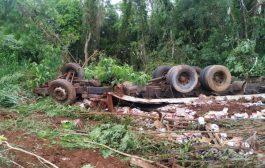 Identificado homem que morreu em acidente na Ponte Queimada na manhã de hoje (18)