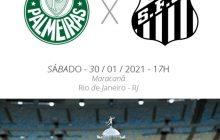 Palmeiras e Santos decidem hoje a final da Libertadores