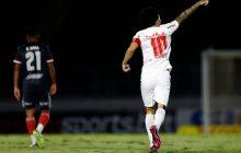 São Paulo faz jogo trágico e perde para o Bragantino