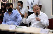 Zado apresenta propósito de construir Hospital Regional ao presidente da Itaipu Binacional