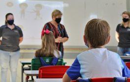 Prefeita Cleide Prates acompanha início das aulas no município de Itaipulândia