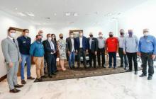 Prefeitos lindeiros discutem principais demandas da região com o Governo do Estado