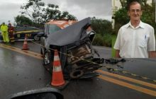 Padre morre em grave acidente