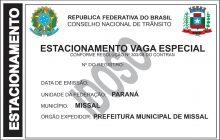 Carteiras de Estacionamento para Idosos e Portadores de Necessidades Especiais em Missal passam a ser expedidas no CRAS