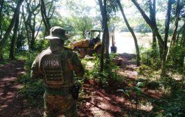 Santa Helena: 41 portos clandestinos são destruídos pelas forças de segurança