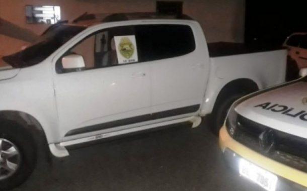 S10 recuperada pela Polícia Militar em Pato Bragado foi roubada em Medianeira