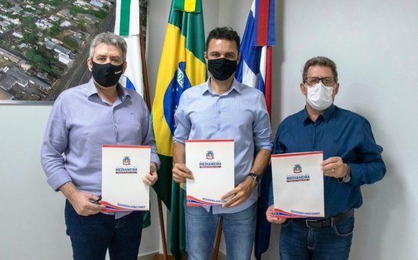 Medianeira, Missal e Serranópolis renovam Termo de Cooperação Técnica e Financeira da Casa Lar Comarcal
