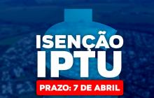 Tributação alerta sobre última semana para solicitar isenção do IPTU 2021 em Itaipulândia