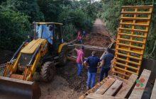 Missal: Ponte de madeira em São José dos Pinhais será substituída por ponte de concreto