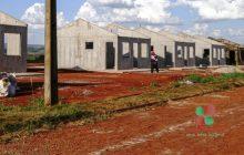 Casas no Loteamento Esperança em Missal estão quase prontas