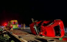 Medianeira: Motorista de veículo morre em grave acidente na BR 277