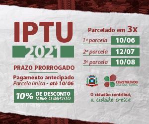 IPTU MISSAL ABRIL 2021