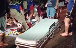 Motociclista fica gravemente ferido após colisão