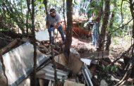 Descarte Clandestino de Resíduos às margens da Estrada em São João, Missal causa transtornos