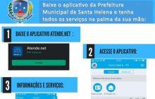Aplicativo da Prefeitura oferece facilidades para cidadãos, colaboradores e empresas de Santa Helena