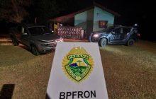 BPFRON apreende cigarros contrabandeados em Itaipulândia