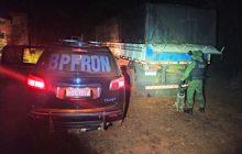 Carreta carregada com cigarros contrabandeados em Santa Helena é apreendida BPFron