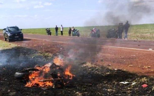 Colisão frontal entre moto e caminhão tira a vida de motociclista rondonense