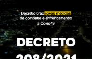 Itaipulândia: Decreto traz novas medidas de combate e enfrentamento à Covid-19