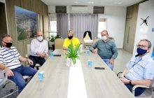 Base náutica de Itaipulândia é tema de reunião com representantes do IDR