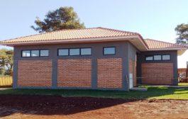 Nova bateria de banheiros é construída no Porto Internacional em Santa Helena-PR