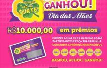 Campanha do Comércio de Santa Helena já distribuiu 2 mil reais em prêmios no mês das mães