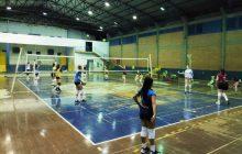 Seguindo protocolos sanitários, treinamentos de voleibol estão acontecendo em Santa Helena