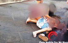 Vídeo mostra o exato momento em que indivíduos chegam e executam  vulgo Sagui