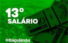 Administração de Itaipulândia deposita mais de 1 milhão e 100 mil reais como adiantamento do 13º salário