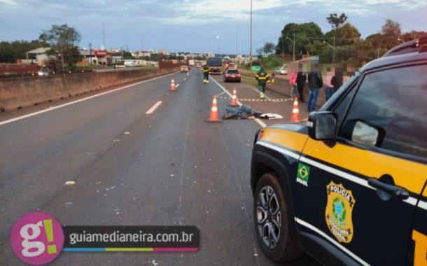 Jovem de apenas 17 anos morre atropelada na rodovia BR-277 em Medianeira