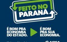 Programa Feito no Paraná recebe apoio da Acisa em Santa Helena