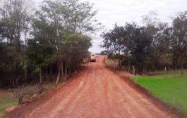 Sub-prefeitura do Portão Ocoí continua serviços de melhorias de estradas rurais