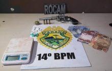 Criança de 12 anos com revolver 38 é apreendido vendendo cocaína e maconha