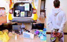 12, 13 e 17 anos: São as idades dos autores de furtos em CMEI de Itaipulândia