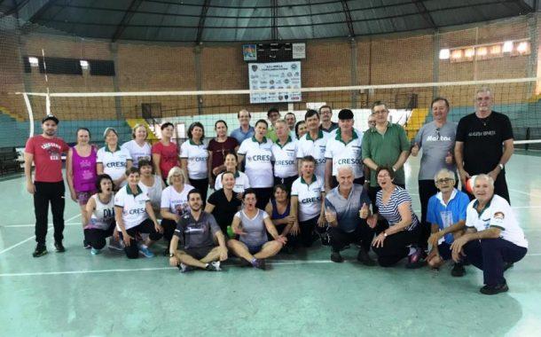 Treinos do voleibol adaptado retornam em Itaipulândia