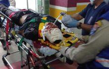 Homem leva marteladas na cabeça e teve corpo queimado