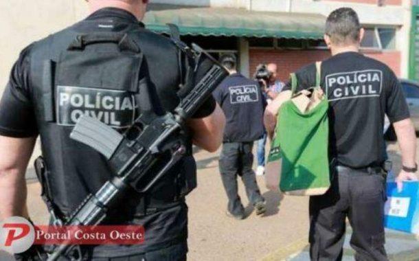 Polícia mira fraude em licitações e cumpre mandados em São José das Palmeiras e região