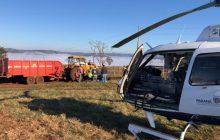 Morre vítima de acidente com trator em Lindoeste