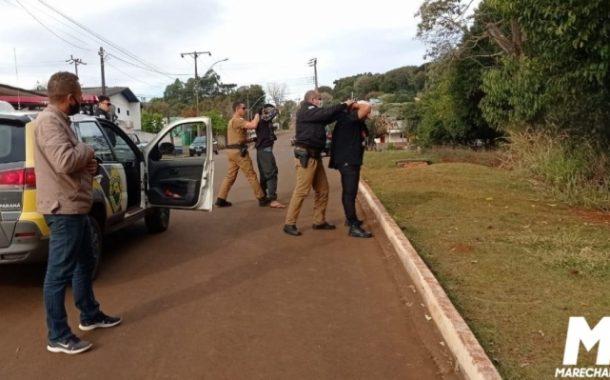 Com ajuda do vereador Soldado Sauer, família consegue localizar e prender autor de furto de camionete em São Roque