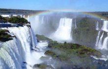 Cataratas do Iguaçu têm vazão registrada acima da média normal